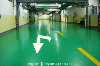 China Elastic Indoor Polyaspartic polyurea Flooring Coating Formulation supplier