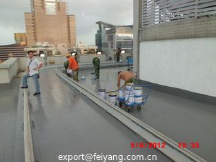 China Waterproof Polyaspartic Coating Projects-Waterproof of Macau Square Roof supplier