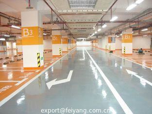 China Outdoor Self-leveling Polyaspartic Flooring Coating Feature supplier