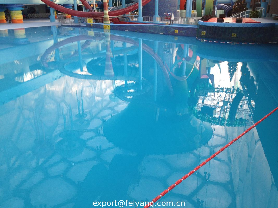 Exceptional Waterproof Polyaspartic Coating Projects Water Cube Swimming Pool And Water  Amusement Park
