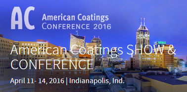 Meeting you in 2016 America Coating Show on 11th, April to 14th, April